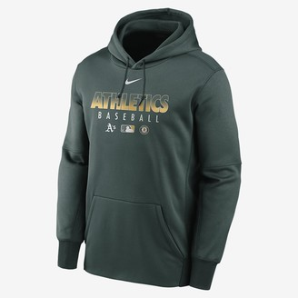 Nike Men's Pullover Therma (MLB Oakland Athletics)
