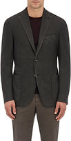 Boglioli Men's Wool Three-Button Sportcoat-GREEN