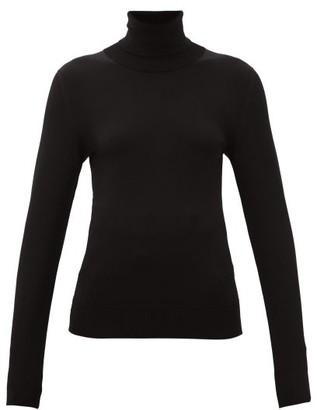 Dolce & Gabbana Roll-neck Jersey Sweater - Womens - Black