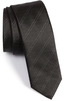 BOSS Men's Double Pinstripe Silk Tie