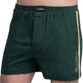 Nukleus Men's 100% Organic Cotton Boxers Super Comfort Sporty Underwear Shorts Medium/ 34-36 Inches