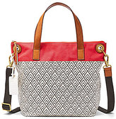 Fossil Keely Geometric Tote