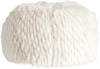Pottery Barn Teen Winter Fox Faux-Fur Bean Bag Chair