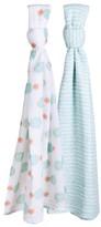 Bebe Au Lait 2-Pack Muslin Swaddle Blankets