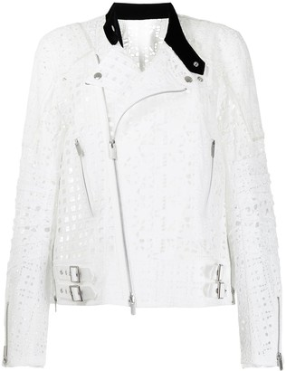 Sacai Lace Embroidered Jacket
