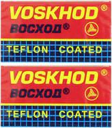 Teflon Coated Double Edge Blades by Voskhod (10 Blades)