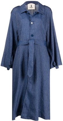 Barena Oversized Denim Coat