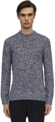 Ermenegildo Zegna Cotton Blend Knit Sweater