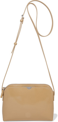 The Row Multi Pouch Patent-leather Shoulder Bag