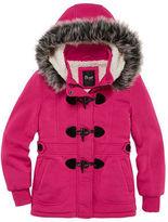 Asstd National Brand Girls Lightweight Fleece Jacket-Preschool