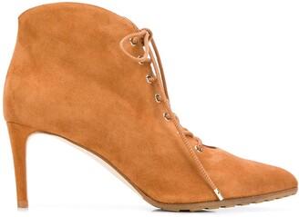 Chloe Gosselin Priyanka lace-up ankle boots
