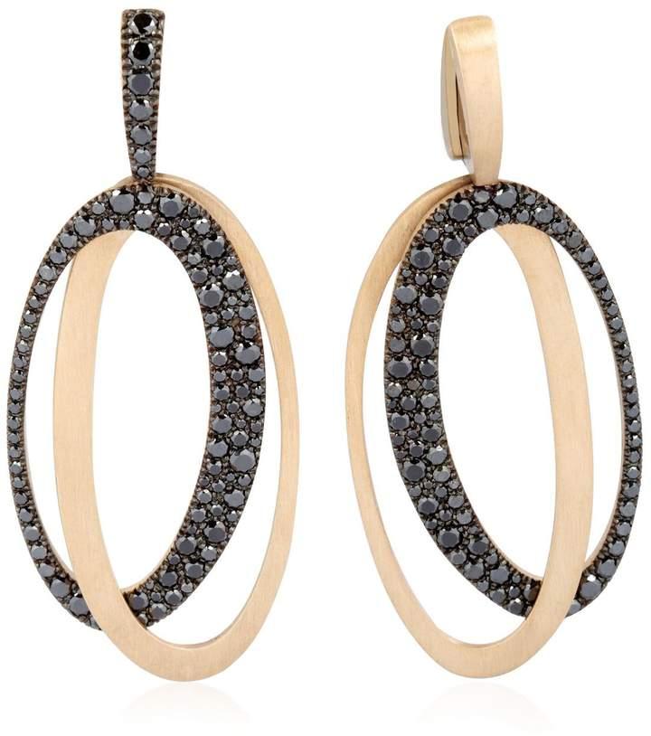 Antonini Black & White Earrings