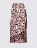 Marks and Spencer Floral Print Full Maxi Skirt