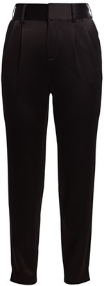 Alice + Olivia Troy Snap-Bottom Trousers