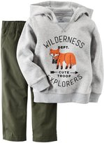 Carter's 2 Piece Sweater Set - Heather - 2T