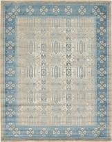 Luxury Vintage Persian Design Khatoon Rug Beige 10' x 13' St.George Collection Area Rugs