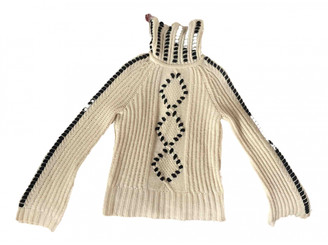 Intermix Beige Wool Knitwear for Women