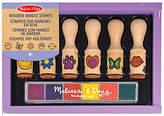 Melissa & Doug Wooden Handle Stamps Set
