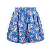 Ralph Lauren Ralph LaurenGirls Blue Floral Print Skirt
