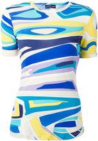 Emilio Pucci printed T-shirt - women - Silk/Viscose - 46