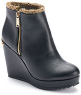 Juicy Couture Women's Wedge Ankle Boots
