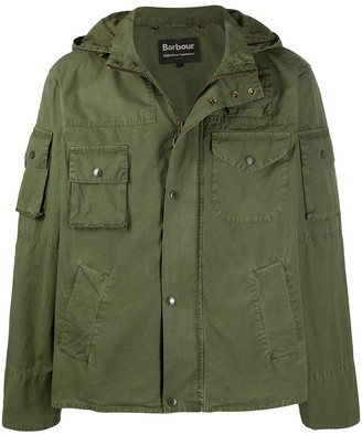 Barbour Short Parka Jacket