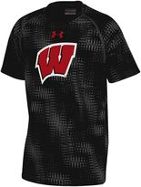 Under Armour Boys 8-20 Wisconsin Badgers Printed Novelty Tee