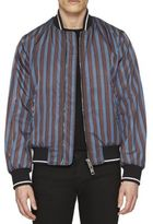 Burberry Striped Bomber Jacket