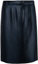 Golden Goose Deluxe Brand ribbed knee length skirt - women - Polyester - S
