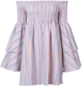 Caroline Constas off shoulder dress - women - Cotton - S
