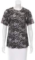Wayne Open Knit Short Sleeve Top w/ Tags