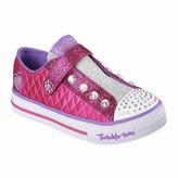 Skechers Twinkle Toes Shuffles Sparkly Jewels Girls Sneakers - Little/Big Kids