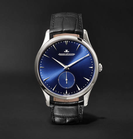 Jaeger-LeCoultre Master Grande Ultra Thin 40mm Stainless Steel And Alligator Watch
