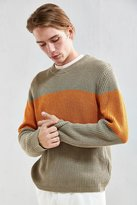 Urban Outfitters Chest Stripe Crew Neck Sweater