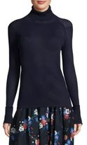Tory Burch Lana Knitted Turtleneck Sweater