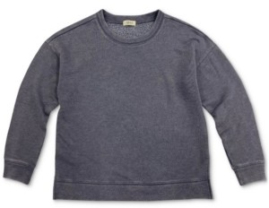 Style&Co. Style & Co Petite Crewneck Sweatshirt, Created for Macy's