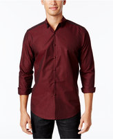 INC International Concepts Trevor Metallic-Print Button-Front Shirt, Only at Macy's