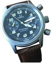 Omega Brown Steel Watches