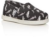 Toms Boys' Classic Velcro® Strap Slip-On Sneakers - Toddler, Walker