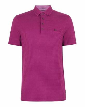 Ted Baker Hughes Textured Polo Shirt