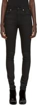 Saint Laurent Black Original High Waisted Skinny Jeans