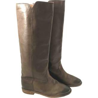 Etoile Isabel Marant Brown Leather Boots