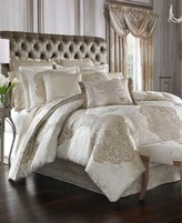J Queen New York La Scala King Comforter Set