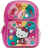 Asstd National Brand Hello Kitty Rainbow Hearts Backpack - Girls 7-16