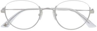 McQ Swallow Rimless Glasses