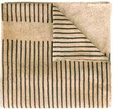 Uma Wang - striped scarf - women - Cotton - One Size
