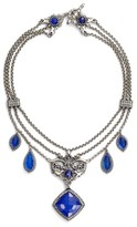 Konstantino Women's Andromeda Lapis Frontal Necklace