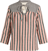 Ace&Jig Constance striped cotton top