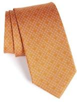 Salvatore Ferragamo Men's Geometric Print Silk Tie