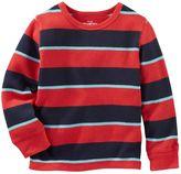 Osh Kosh Toddler Boy Striped Thermal Long Sleeve Tee